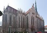 Mühlhausen, Marienkirche, Nordfassade