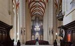 Mühlhausen, Marienkirche, Blick vom Chor