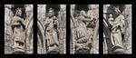 Mühlhausen, Marienkirche, Figuren der Anbetung der Heiligen drei Könige