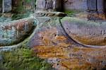 Paulinzella: Säulenbasis in Vorhalle