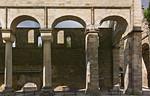 Paulinzella: Wand des nördlichen Seitenschiffs