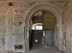 Weissensee, Runneburg. Portal des Festsaals auf Hofseite (westl.)