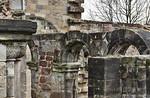 Thalbürgel, ehem. Klosterkirche. Westl. Vorhalle: Blick Richtung Südost