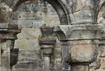 Thalbürgel, ehem. Klosterkirche. Westl. Vorhalle: Kapitelle Richtung Nord