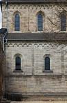 Thalbürgel, ehem. Klosterkirche: westl. Joche des Langhauses von Süden