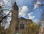 Thalbürgel, ehem. Klosterkirche von Osten