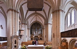 Herford, Münsterkirche, Blick nach Westen