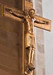 Minden, Dom, Kopie des Mindener Kruzifixes, Original wohl um 1070, im Domschatz