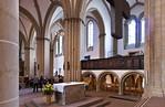 Herford, Münsterkirche, Blick nach Nordesten mit Empore