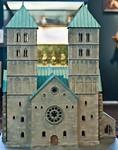 Münster, Dom Westfassade, Modell