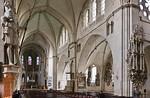 Münster, Dom, Längsschiff, Blick ins südliche Seitenschiff