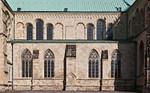 Münster, Domlängsschiff von Süden
