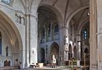 Münster, Dom, Blick aus südl. Seitenschiff in Vierung