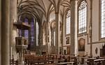 Münster, Lambertikirche, Blick Richtung Chor und südl. Seitenschiff