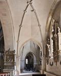 Münster, Dom, Blick durch südl. Seitenschiff nach Osten