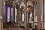 """Münster, Lambertikirche, Blick in Chor und Nebenchor (""""Alter"""" Chor)"""