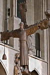 Münster, Dom, Triumphkreuz im Chor
