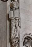 Münster, Dom, Evangelist Matthäus an nordöstl. Vierungspfeiler