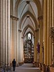 Paderborn, Dom, nördl. Seitenschiff mit Fürstenberggrabmal
