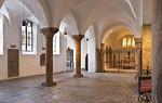 Paderborn, Dom, Atrium mit Brigidakapelle