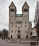 Paderborn, Abdinghofkirche, Westfassade