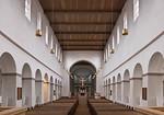 Paderborn, Abdinghofkirche, Langhaus nach Osten