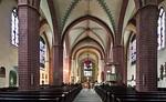 Paderborn, Busdorfkirche, Langhaus nach Osten