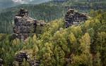Blick vom Papststein (Sächsische Schweiz)