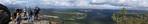 Blick vom Lilienstein (Sächsische Schweiz)