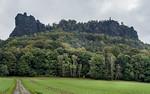 Aufstieg zum Lilienstein (Sächsische Schweiz)